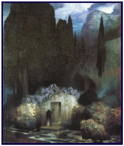 The Tomb of Böcklin