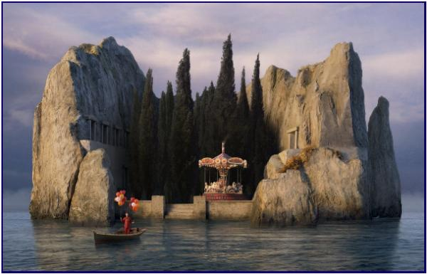 картина остров: